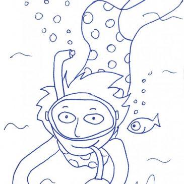 Ένα σκίτσο την ημέρα… A scketch per day… 17/7/16