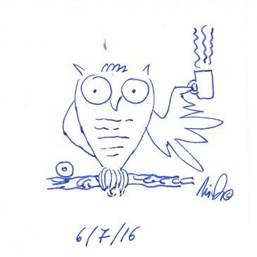 Ένα σκίτσο την ημέρα… A scketch per day… 6/7/16