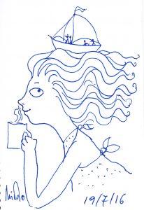 a sketch per day 19 ιουλιου