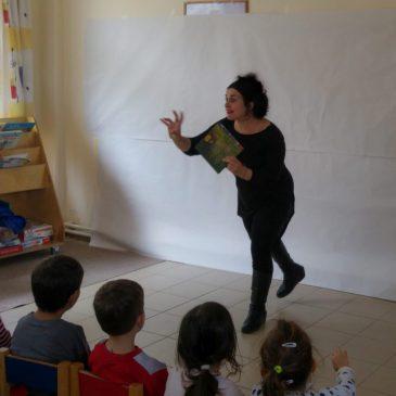 Ζωγραφήγηση τα εγκαίνεια της ΚΔΑΠ, Ελευσίνα