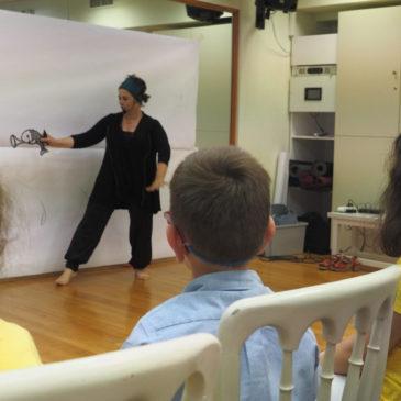 Ζωγραφήγηση στο EkaliClub για τους Μικρούς Ροβινσώνες της ΕΛΕΠΑΠ